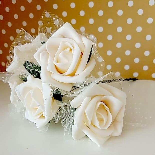 flor em eva para casamento