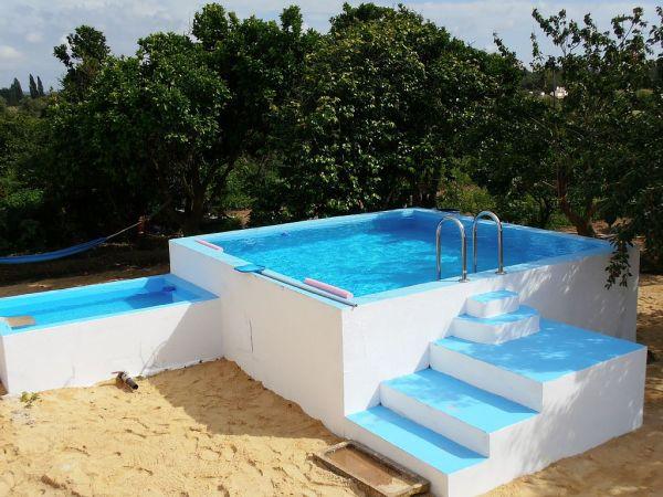 10 modelos de piscinas pequenas para casas 4 blog da for Piscina pequena bebe