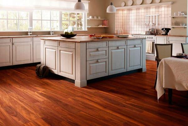 piso vinilico na cozinha