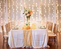 luzes para festa de casamento
