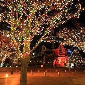Decoração com Luzes para o Natal